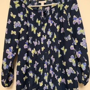Charter Club Butterfly Blouse